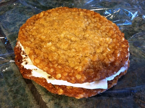 Homemade Oatmeal Creme Pies from Sally's Baking Addiction