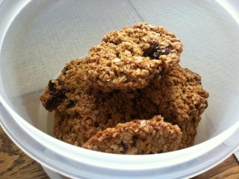 Martha Stewart's gluten free oatmeal cookies